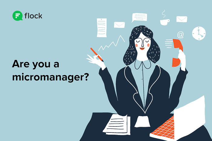 woman flustered micromanagement