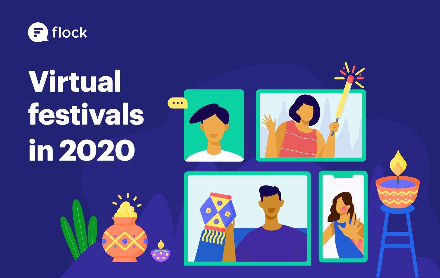 Virtual festivals in 2020