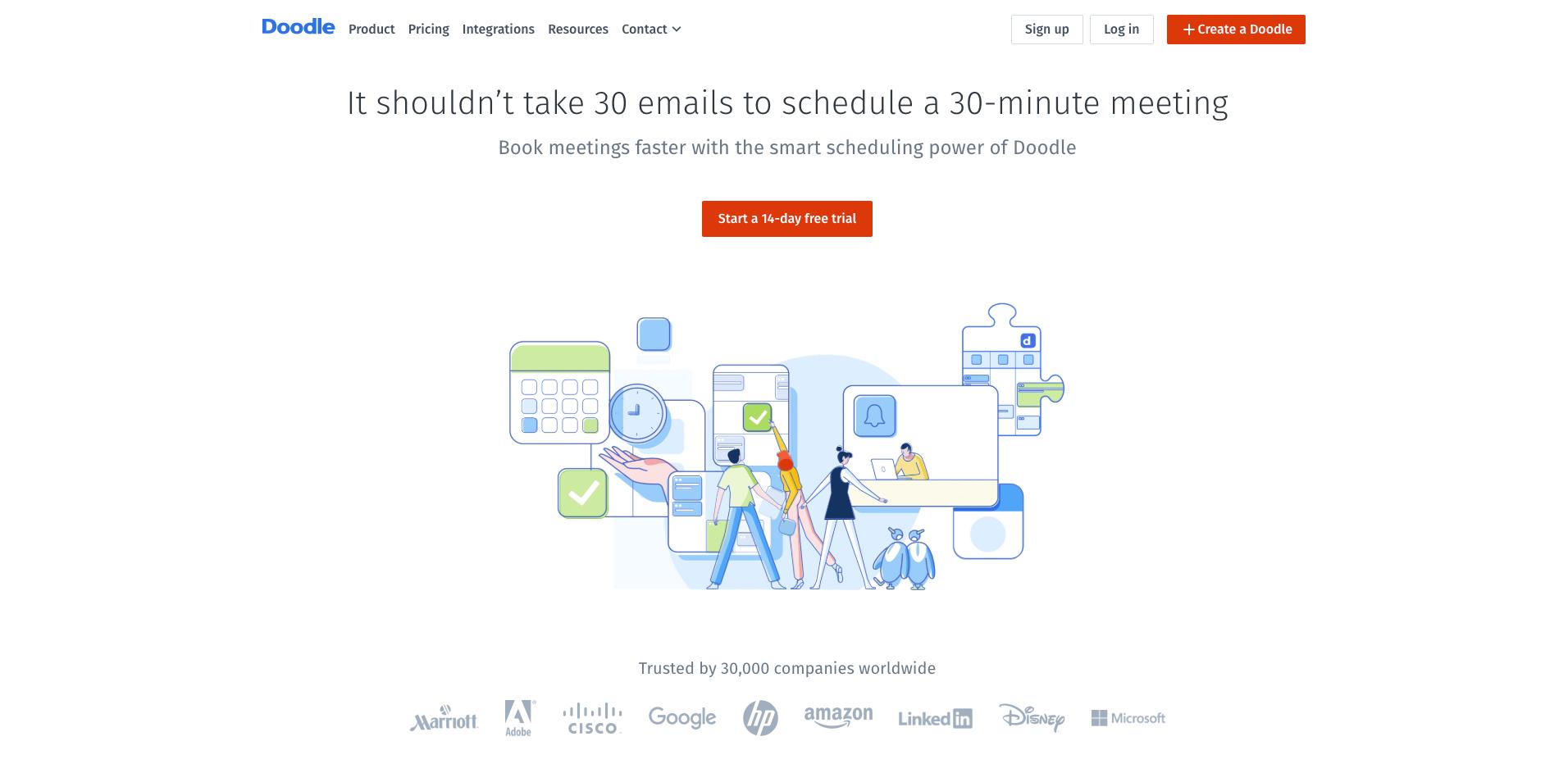 doodle homepage screenshot
