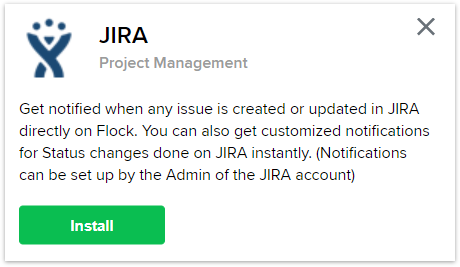 Jira integration for Flock