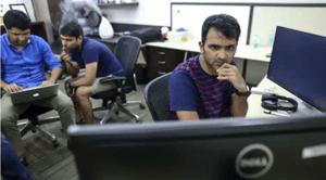Bhavin at work