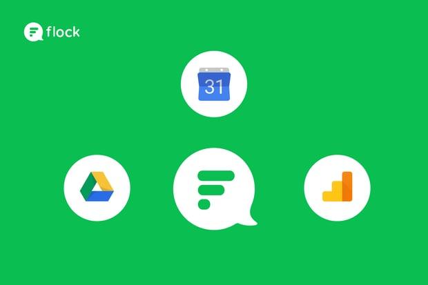 Google Apps integration in Flock