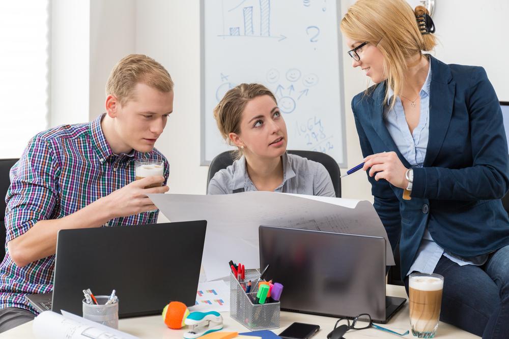 Open offices improve teamwork!
