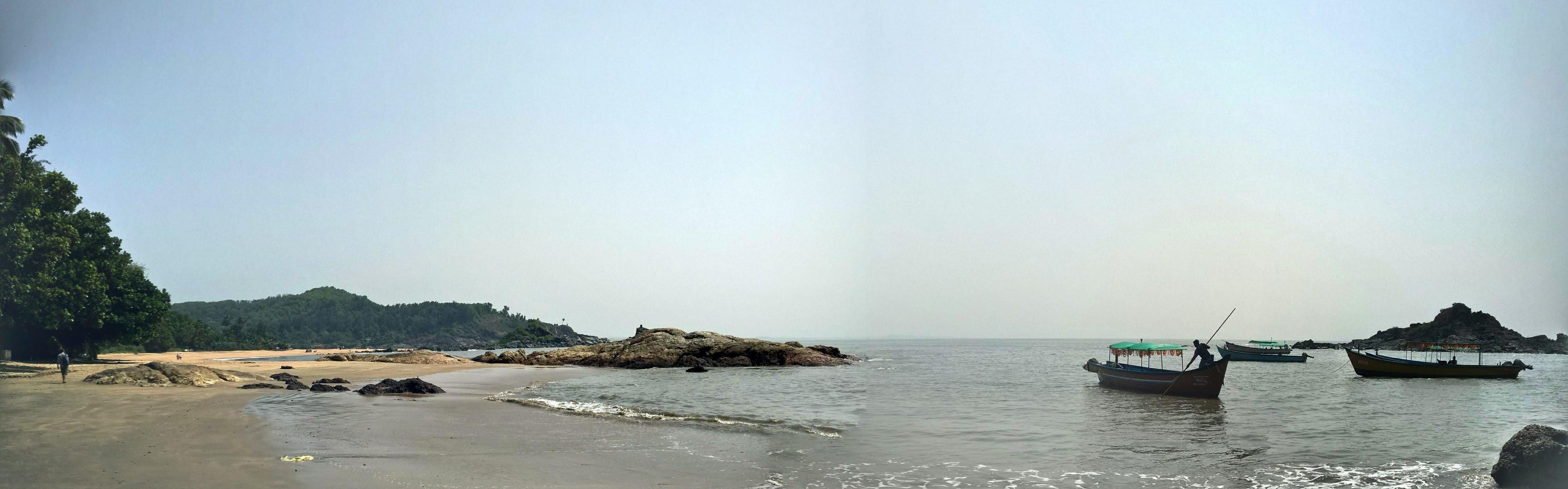 Om Beach, Gokarna, India