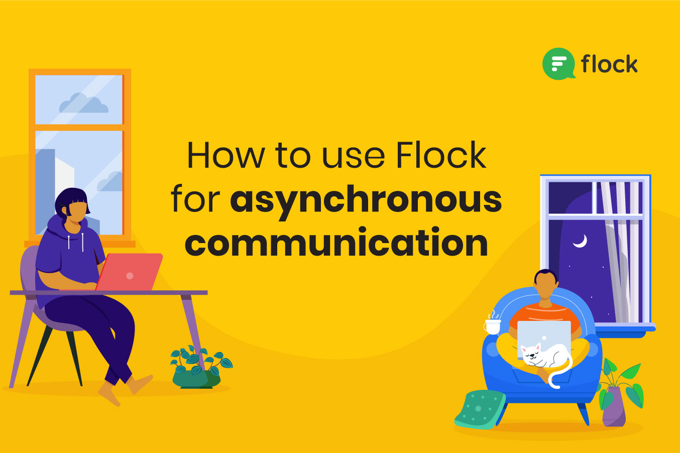 Flock for asynchronous communication