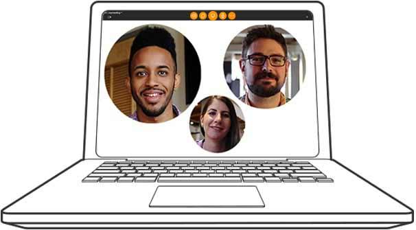 A join.me video call screenshot