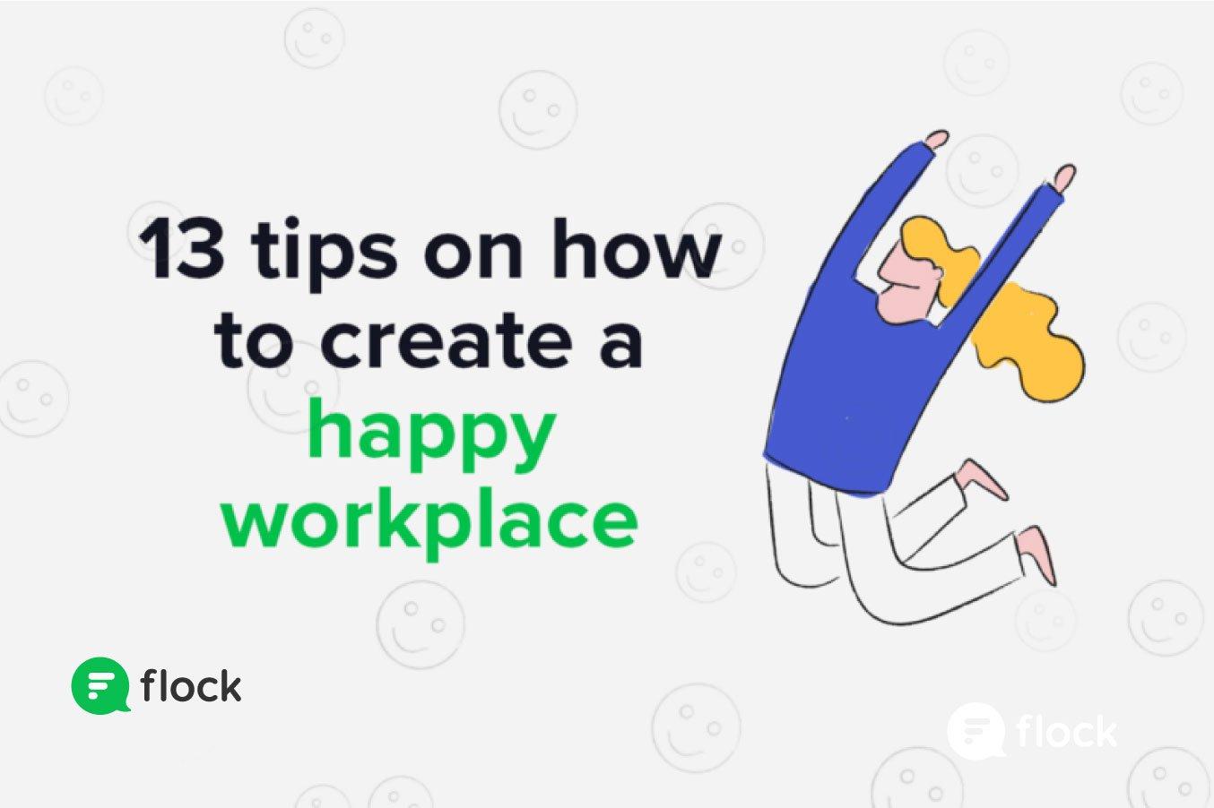 happy workplace