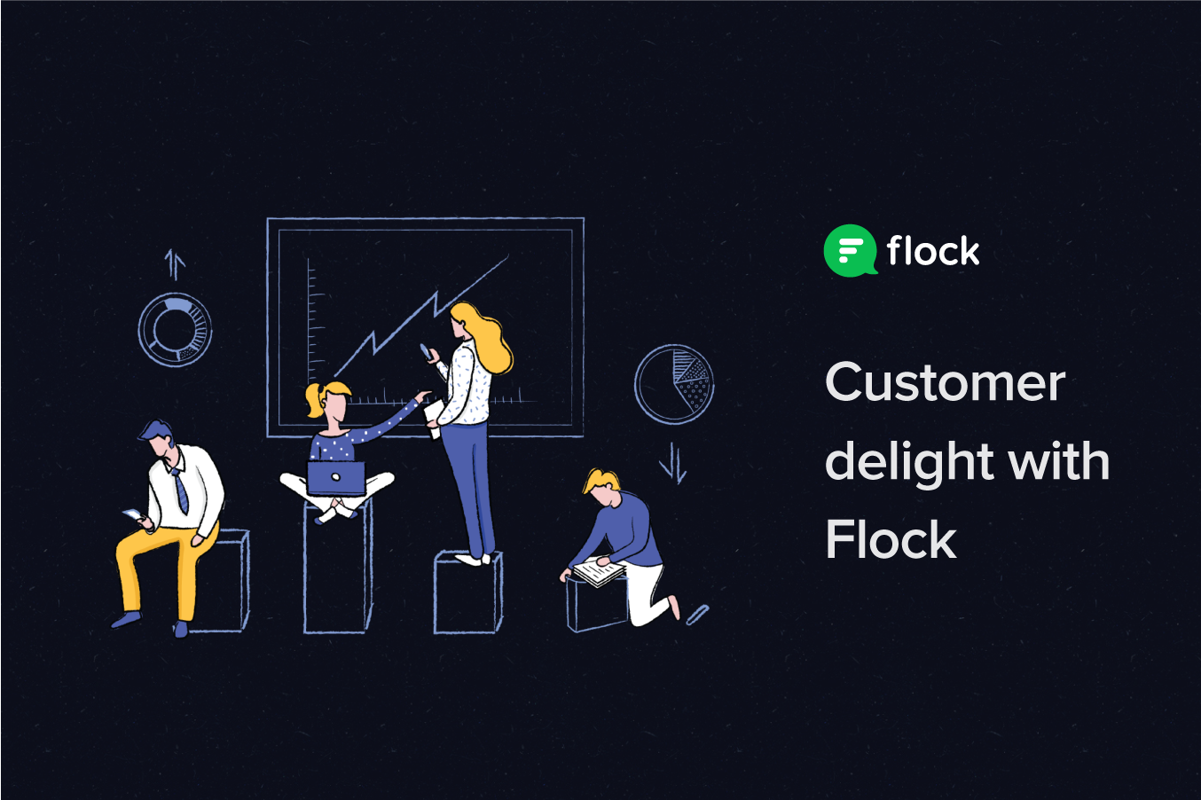Graphic: Customer delight with Flock