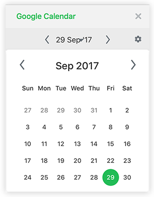Google Calendar in Flock! Time to mark your calendars