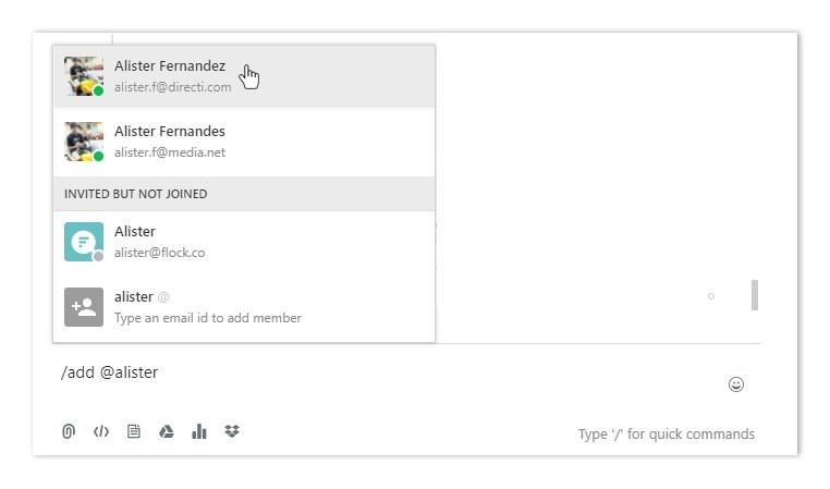 Slash command to add members