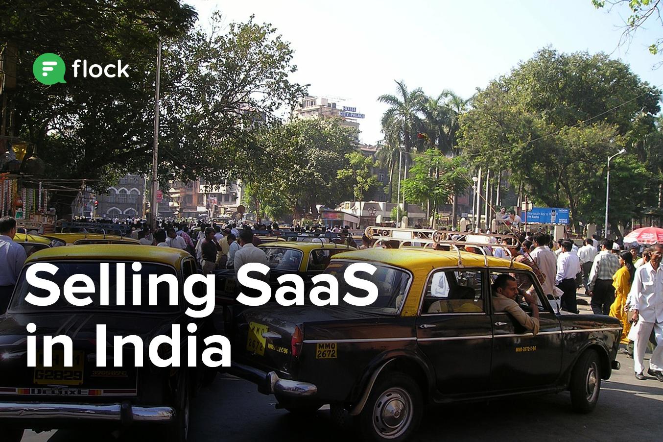Selling SaaS in India